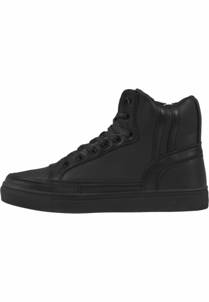 Zipper High Top Shoe