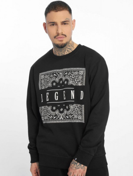 Dangerous DNGRS Men Pullover DNGRS Legend Crewneck in black