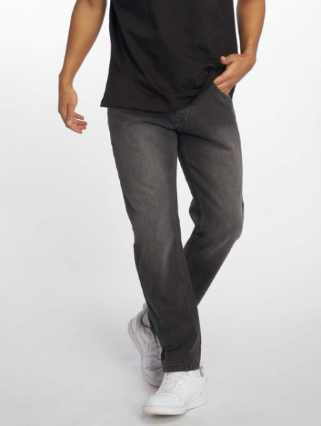 Ecko Unltd. / Straight Fit Jeans Mission Rd in black