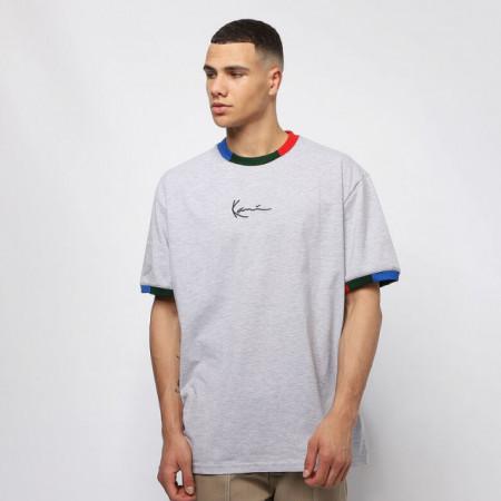 Karl Kani T-shirt Signature Ringer Tee grey/navy/green/red
