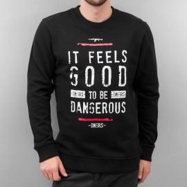 Dangerous DNGRS Overwear / Jumper It Feels Good in black*