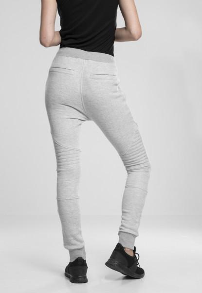 Ladies Melange Biker Sweatpants