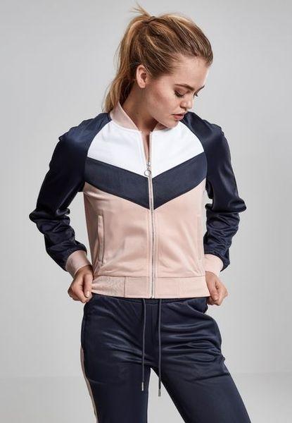 Ladies Short Raglan Track Jacket