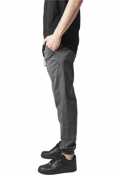 Stretch Twill Jogging Pants
