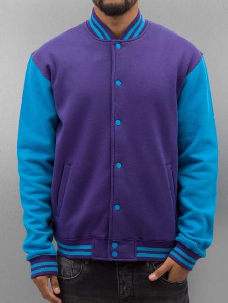 2-tone College Sweatjacket
