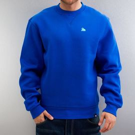 Dangerous DNGRS Small Logo Crew Neck Sweatshirt Nautical Blue*