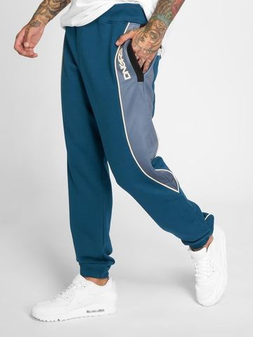 Dangerous DNGRS / Sweat Pant Thron in blue