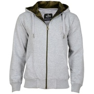Hoodboyz Fleece( Zip Hoody grey)