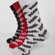 AMK Allover Socks 3-Pack