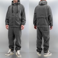 Dangerous DNGRS Rock Sweat Suit Charcoal Melange*