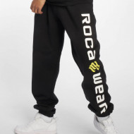 Rocawear Men Sweat Pant Basic Fleece in black