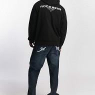 Rocawear Men Zip Hoodie NY 1999 ZH in black