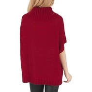 Ladies Knitted Poncho