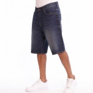 Pelle Pelle Double p denim short