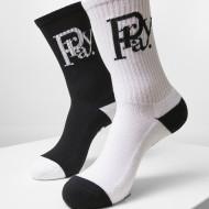 Prayor Monogram Socks 2-Pack