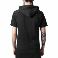 Shortsleeve Long Raglan Hoody