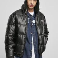 Southpole Imitation Leather Bubble Jacket