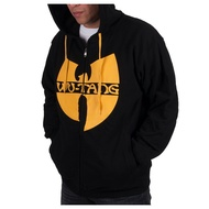 Wu Wear - Wu Tang Clan Zipper Hooded black/yellow - Wu-Tang Clan