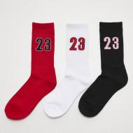 23 Socks 3-Pack