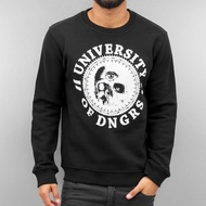 Dangerous DNGRS Overwear / Jumper University Of DNGRS in black*