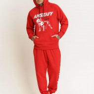 Amstaff Logo 2.0 Hoodie - red/white