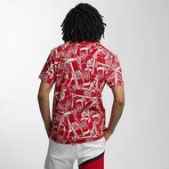 Ecko Unltd. Overwear / T-Shirt Spraypaint in red