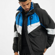 Jacket Karl Kani Padded Block Windrunner Jacket black/blue/white