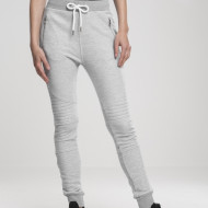 Ladies Melange Biker Sweatpants