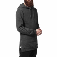 Long Side Zipped Hoody