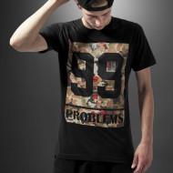 99 Problems Block Camo Tee