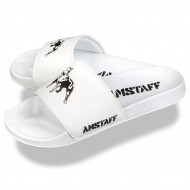 Amstaff Dogs Bay pool slides - white