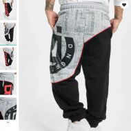 Dangerous DNGRS Men Sweat Pant Smack in black