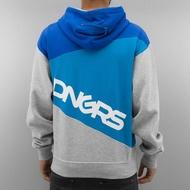 Dangerous DNGRS Overwear / Zip Hoodie Three Tone in grey*