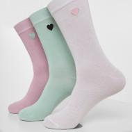 Heart Socks 3-Pack