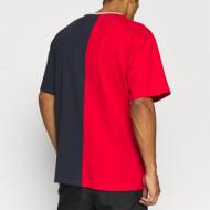 Karl Kani T-shirt College Block Tee red/navy/white