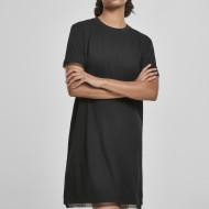 Ladies Boxy Lace Hem Tee Dress