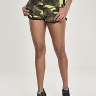 Ladies Printed Camo Hot Pants