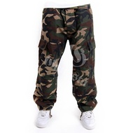 CAMOUFLAGE CARGO PANTS *