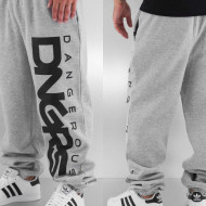 Dangerous DNGRS / Sweat Pant Classic in grey