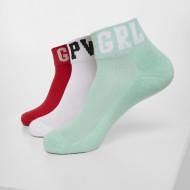 Girl Power Socks 3-Pack