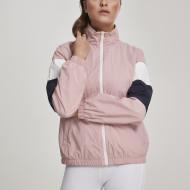 Ladies 3-Tone Crinkle Track Jacket