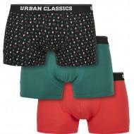 Organic X-Mas Boxer Shorts 3-Pack
