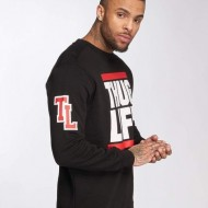 Thug Life / Jumper B.Fight in black