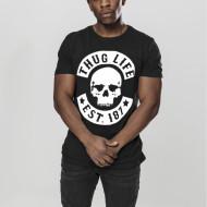 Thug Life Skull Tee