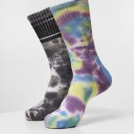 Tie Dye Socks 2-Pack