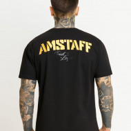 Amstaff Logo 2.0 T-Shirt - black/gold