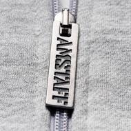 Amstaff Logo Ziphoodie - grey