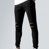 Cutted Terry Pants