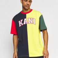 Karl Kani T-shirt College Block Tee navy/yellow/red/green/white