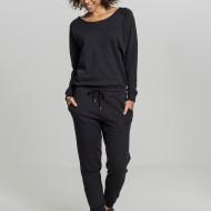 Ladies Long Sleeve Terry Jumpsuit